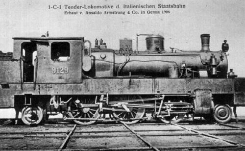 FS Gr.910 del 1905, di costruzione Ansaldo