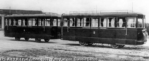 Torino 1933: le ALb25 A1-R1 destinate a Cremona - Foto Coll. Claudio Cerioli da photorail.com