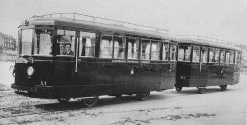 FIAT ALb25 delle Tranvie Provinciali Cremonesi alla consegna: A1 e R1
