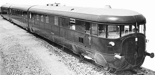 Il primo ATR 100 nel 1936 in una foto del Ministero dei Trasporti. Foto tratta da www.dieselpunks.org