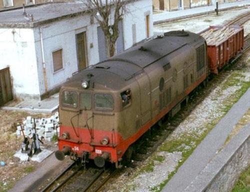 D.341.1008 a Cosenza - Foto © Werner Hardmeier da drehscheibe-online.de