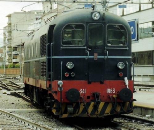 D.341.1063 TFT nel 1993 ad Arezzo - FOto © Vincent da Flickr