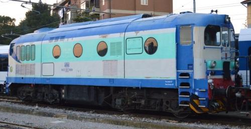 """D341.1041 TFT nel 2013. Foto © Alessio Pascarella """"Railspotter Team"""" da flickr"""