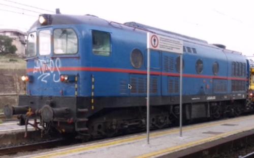 D.341 ignota ripresa a Lentini - Foto tratta da un filmato youtube © Davide Miuzzo