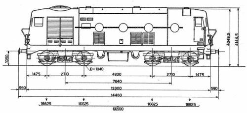 Figurino della D.341 Serie prototipale