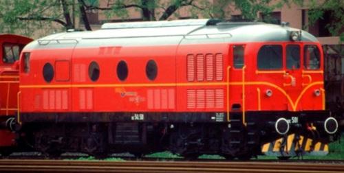 DE.341.501 della Ferrovia Bologna Portomaggiore nel 1992 - Foto © Gianluca Gerosa