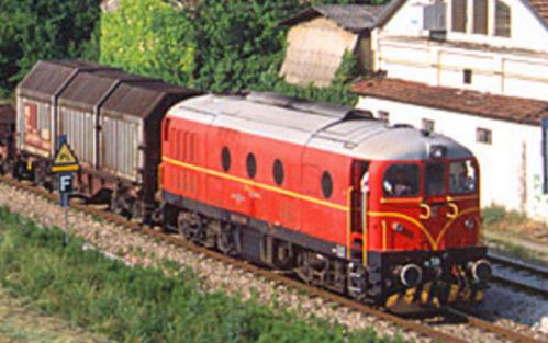 DE.341.501 a Guastalla in testa ad un merci nel 2003 - Foto © Stefano Paolini da photorail.com