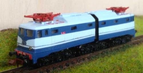 """CLM ?? - E.646.035 """"Treno Azzurro"""" - Foto Bruno Cesaro dal forum NParty - Grazie a Gigi Voltan per la segnalazione"""