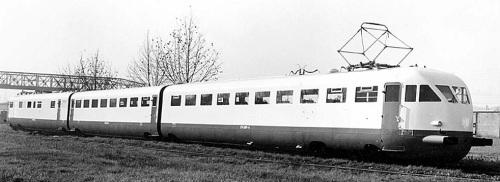 ETR.209 a Milano nel 1938 - Foto Breda