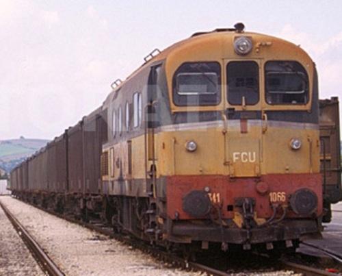 FCU D.341.1066 nel 1999 - Foto © Stefano Paolini da photorail.com