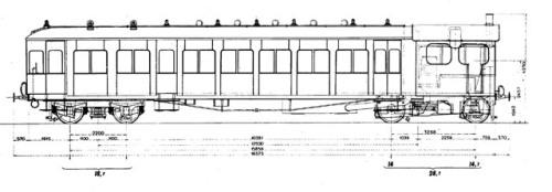 Automotrice a vapore FS Gr.85
