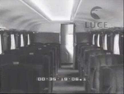 Intreno dell'ATR100, da un Cinegiornale Luce