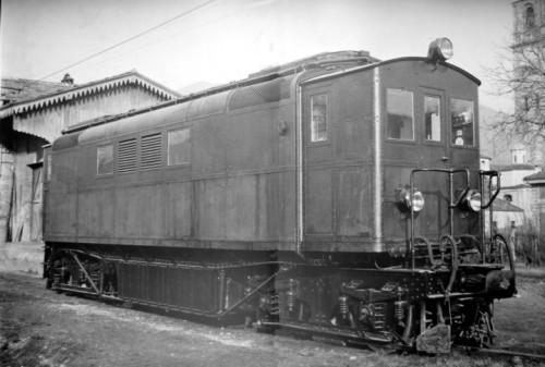 La locomotiva Diesel-Elettrica FIAT del 1922 delle Ferrovie Calabro Lucane