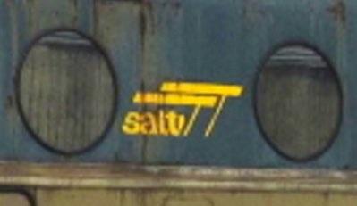 Logo Satti sulla fiancata di una D.341