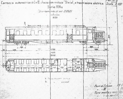 Schema della RNe 8501. Grazie a Pietro Merlo