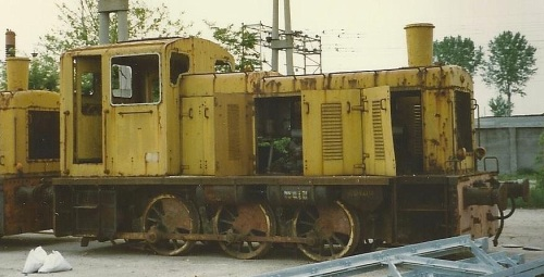 La D.2164 a Montichiari poco prima della demolizione, nel 1997. Foto © Mark jones