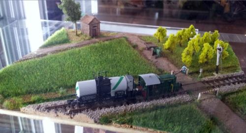 Diorama ad ambientazione agreste di Andrea Sottile per il concorso Aligi Losio.