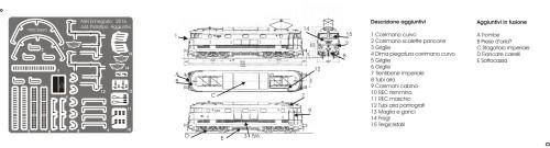 Gli agguintivi della E444 prototipo
