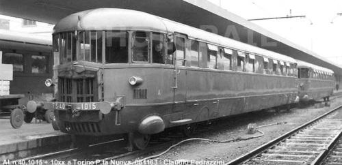ALn.40 a Torino nel 1963 - Foto © Pedrazzini da photorail.com