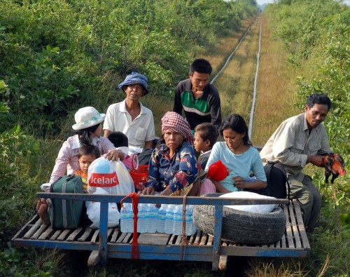 Bamboo train, foto da www.dailygreen.it