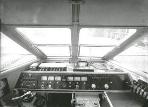 Cabina originale dell'ETR.220