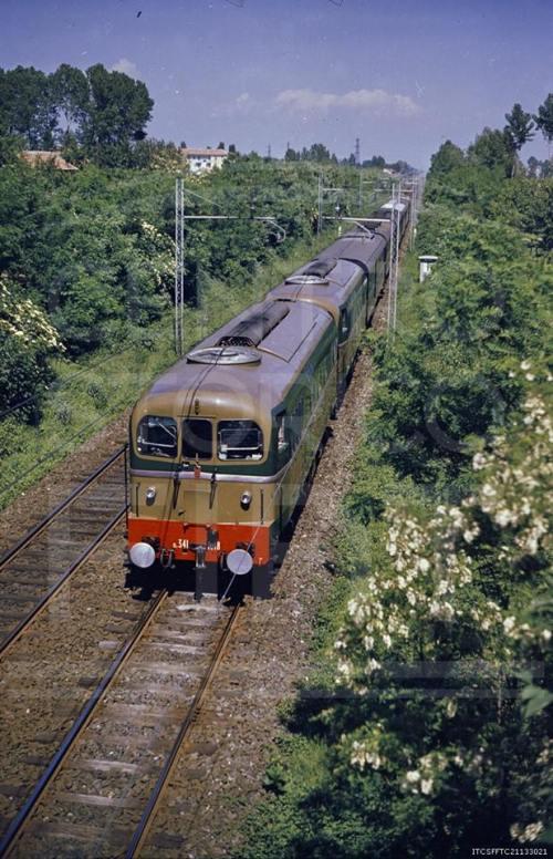 Il treno presidenziale per la regina Elisabetta, dal Centro Documentazione Fiat