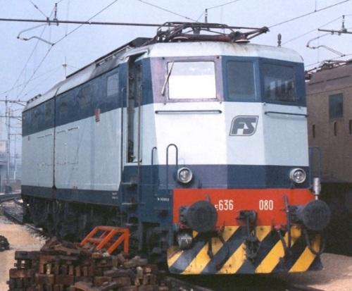 E.636.080 nel 1989 a Milano, Foto © Marco Agretti da IlPortaleDeiTreni