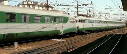 Un ETR.250 e un ETR.220 accoppiati a Mestre (Rapido Genova-Milano-Venezia-Trieste) Foto © Werner Hardmeier da drehscheibe-online.de