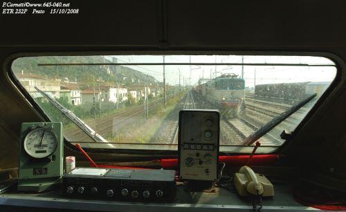 """Vista dalla cabina del """"Polifemo"""". Foto © Paolo Carnietti da lnx.645-040.net"""