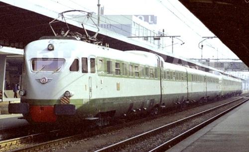 ETR.23x+ETR.25x a Mestre nel 1983 - Foto Donato Rossi da photorail.com