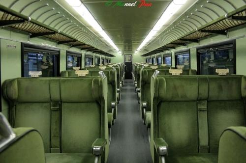 ETR.232, interni di una delle carrozze di seconda, Foto © Manuel Paa da trenomania