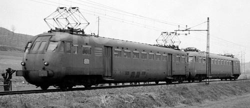 Lebc.840 e ALe.840 nel 1976 in provincia di Alessandria, Foto © Bernhard Studer tra photorail.com