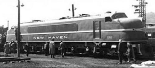 New Haven Diesel elettrica 0361, da http://www.1939nyworldsfair.com