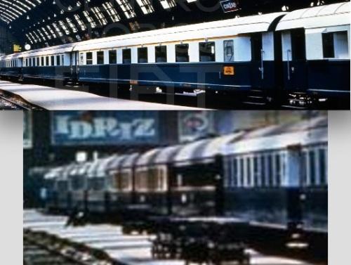 Composizione del Treno Azzurro