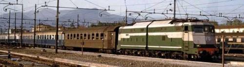 Il treno azzurro a Firenze nell'Aprile '61, immagine tratta da Marklinfan