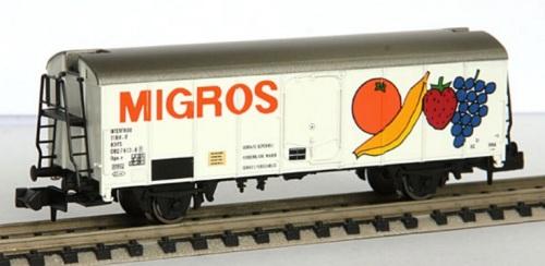 Brawa 6700 - Carro Migros SBB Ibps-v - Foto © huerz