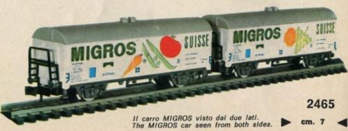 carr Migros sul catalogo-rivarossi del 1970/1