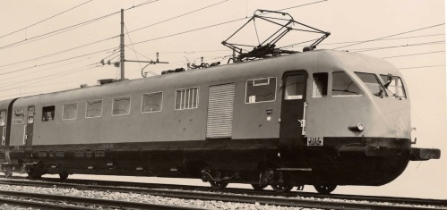 Carrozza 3 degli ETR200 di seconda serie - DU, vista lato corridoio