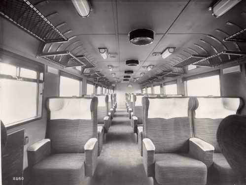 ETR.200 prima serie - Interni vettura B