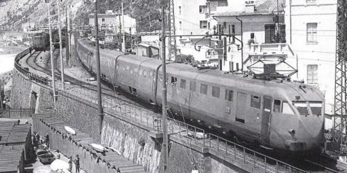Il Roma-Genova a Levanto, Foto FS, da marklinfan