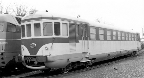 Una ALn 773 a Bruxelles nel 1958. Foto © Alessandro Albè da flickr