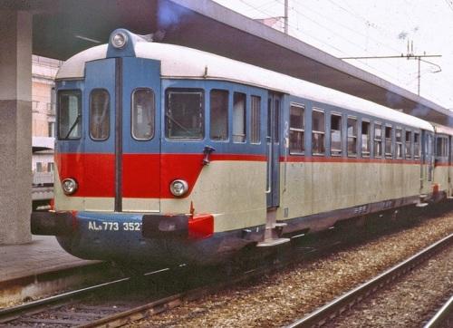 Una ALn.773 con modifiche al frontale analoghe a quelle apportate sulle 883. Foto © Emiliano Maldini