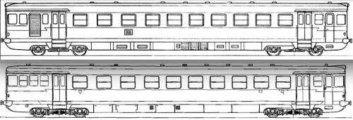 Schema della ALn.873 e del Ln.779 - tratti da http://www.leferrovie.it/