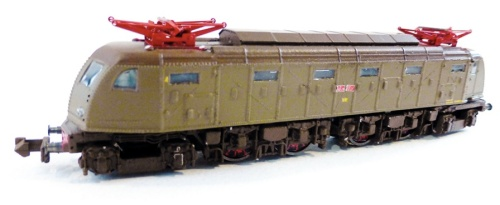 E.428 quarta serie, Lo Locomodels