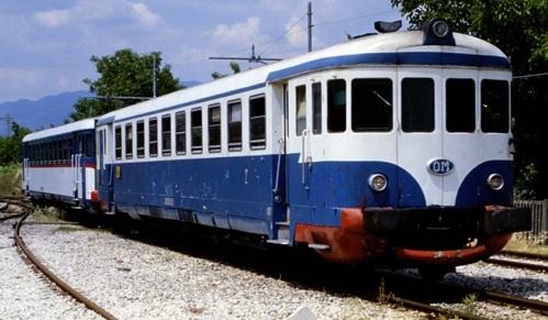Ferrovia Alifana . ALn 773 (ex 3565 FS) + ALn 773 – Alvignano (CE) – 29 maggio 2003 - Foto © Franco Pepe da https://littorina.net/