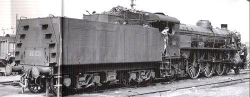 Il retro del tender della 008 a Venezia - Foto Ciganovic (FS) tratta da marklinfan, originale da Mondo Ferroviario