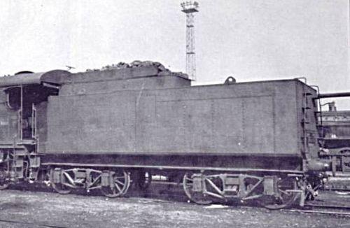 Il tender 2'2'T29. Foto da RivarossiMemory