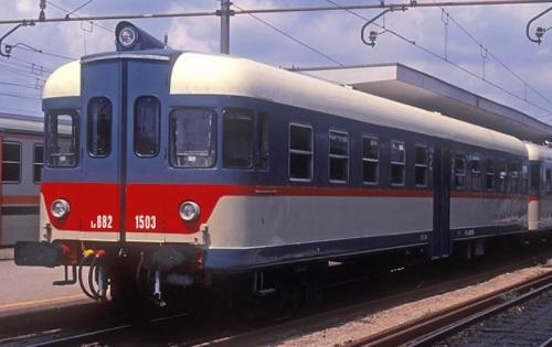 Ln 882.1503 ad Alessandria nel 1992. Foto © Stefano Paolini da photorail.com