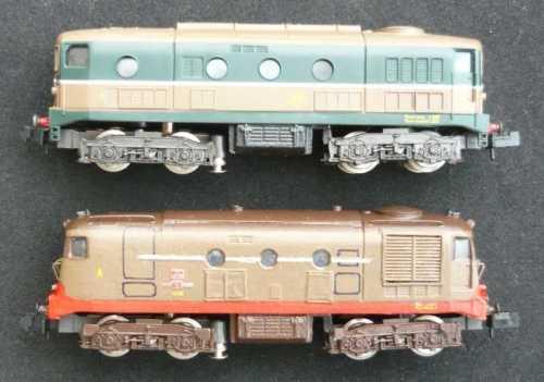 A confronto i due modelli, lato sinistro.