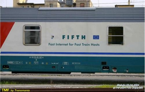 parte centrale della carrozza FIFTH